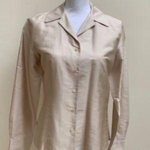 Ann Taylore 100% Silk Blouse